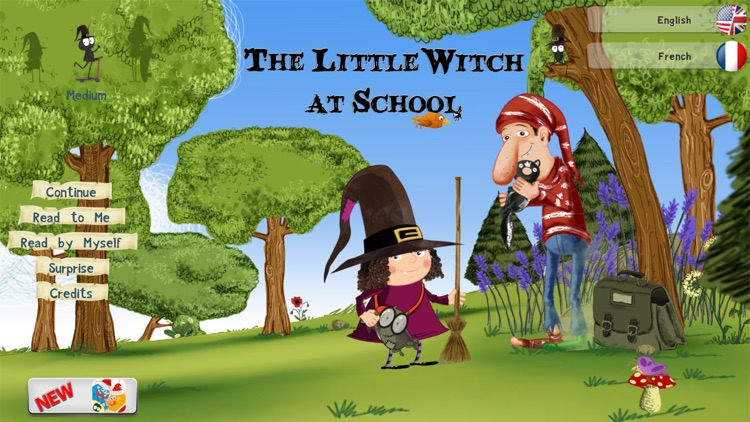 The Little Witch at School - Free screenshot-0