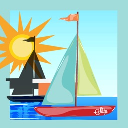 A Sail-ing Boat Race Count-ing & Learn-ing Kid-s Game-s Shadow-s on the Open Sea