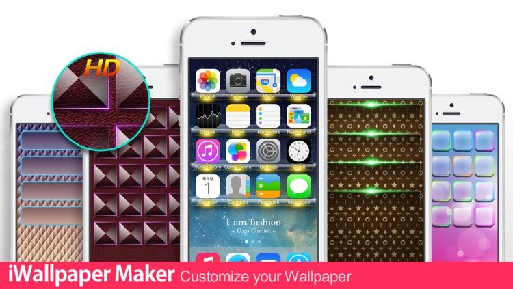 iWallpaper Maker Lite :  Custom Wallpaper theme ( for home screen, lock screen, kakao, whatsapp )