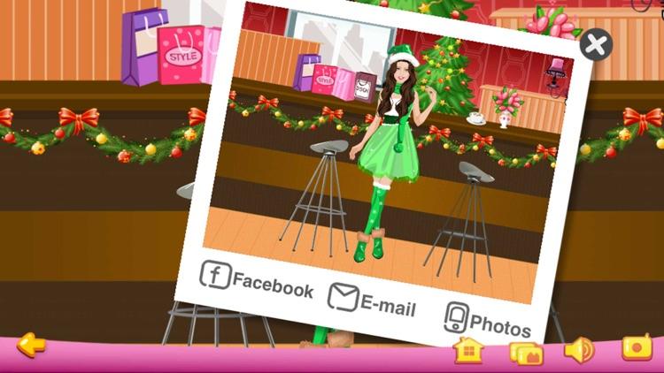 Dress Up - Christmas Girls screenshot-3