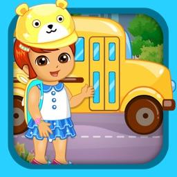 Baby Prepare For School Kids Game