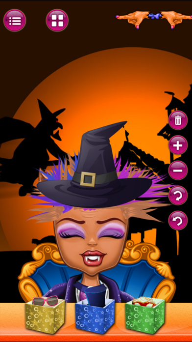 Halloween party new salon games for kids screenshot four