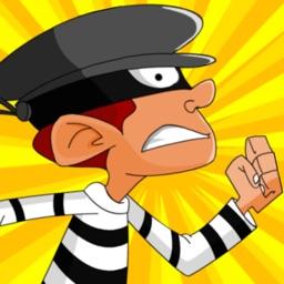 Air Burglar Es-Cape: Police Arrest-ed