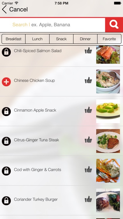 Paleo Meal Plans app image