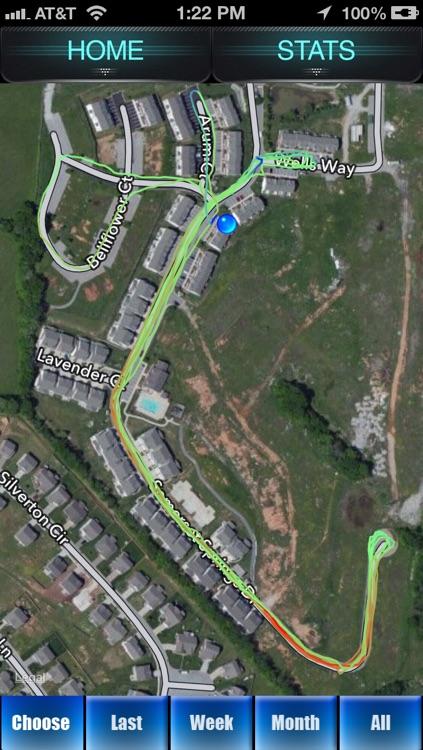 Run Tracker - GPS Fitness Tracking for Runners screenshot-0