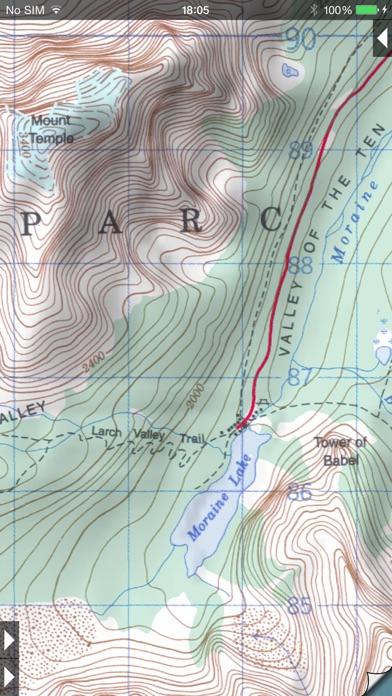Topo Maps Screenshot