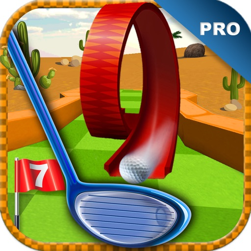 Mini Golf PRO : Desert Edition 2016 - Play golf holes in classic sand environment by BULKY SPORTS