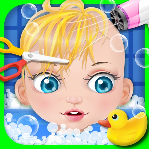 Baby Spa & Hair Salon - kids games
