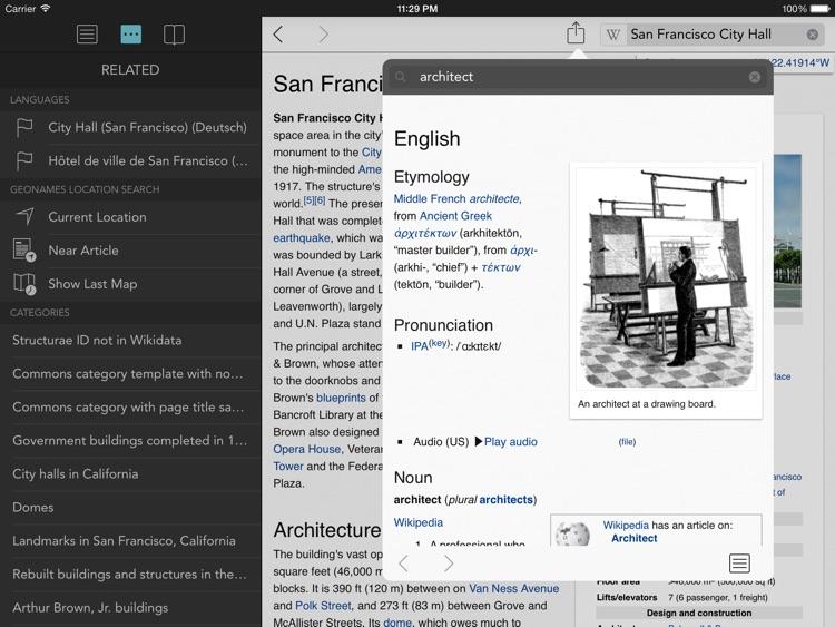 Wikipanion for iPad screenshot-4