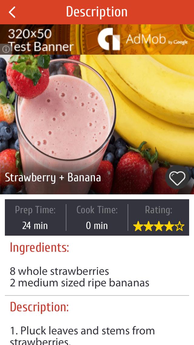 Juice Recipes For Healthy Life screenshot three