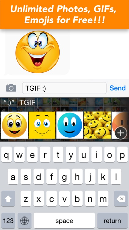 UPchat GIF Keyboard - Make, Send & Find GIFs