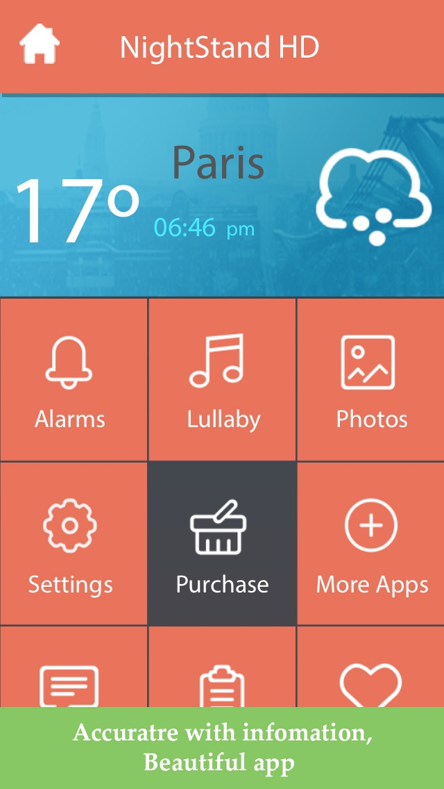download Night Stand HD - Free Music Alarm Clock with Weather & Sleep Timer apps 1