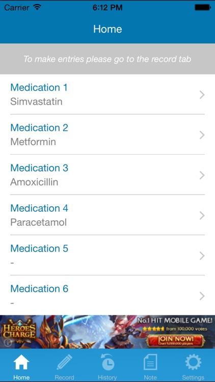 My Medication Diary