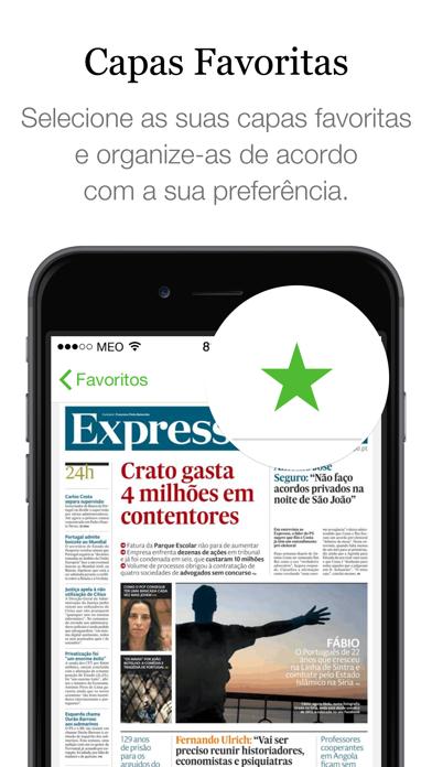 SAPO Jornais screenshot two