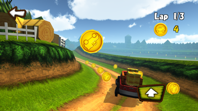 Fun Kid Racing 3D screenshot four