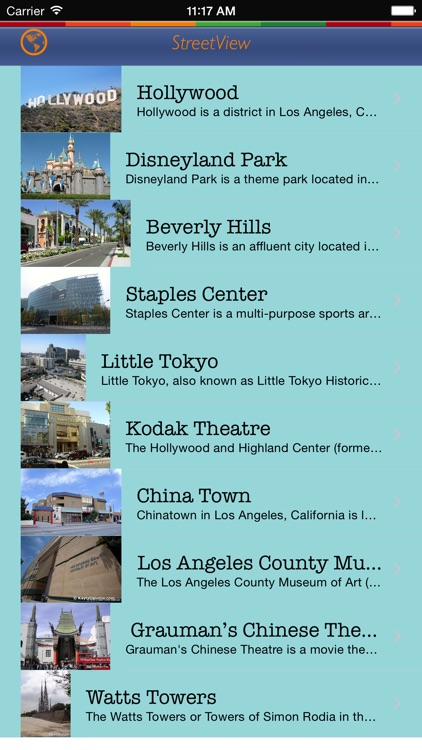Los Angeles Tour Guide: Best Offline Maps with StreetView and Emergency Help Info screenshot-3