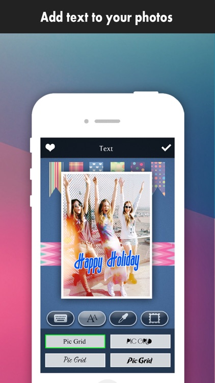 Frame Moment Pro - Grid Editor to collage & crop your photos on instagram screenshot-3
