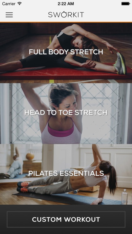 Stretching Sworkit - Increase Flexibilty & Pilates