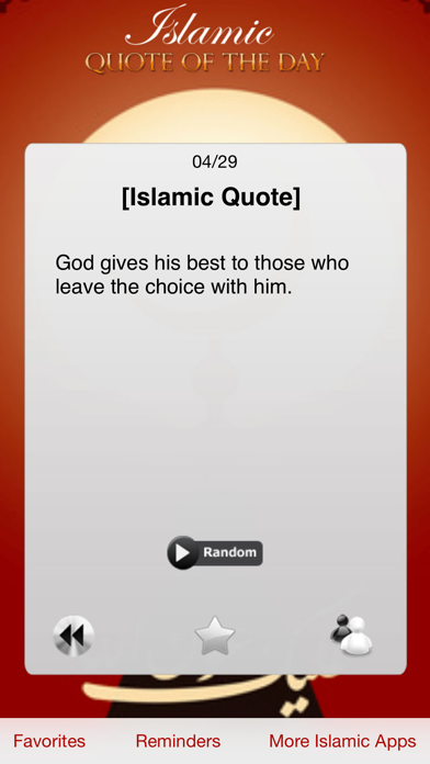 Islamic Quote of the Day Pro (Islam)のおすすめ画像2