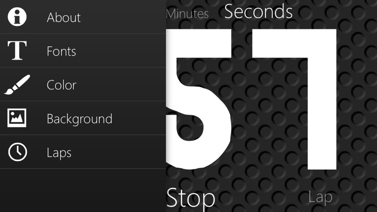 Stopwatch and Timer with big numbers screenshot-3
