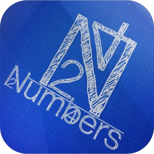 Числа - Numbers puzzle - School game