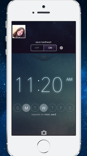 ‎Rise & Shine: Smiling Alarm Clock Screenshot