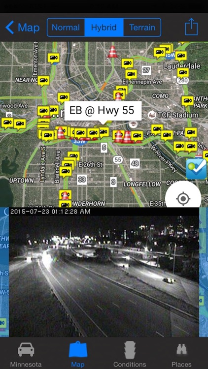 Minnesota/Minneapolis Road Conditions and Traffic Cameras Pro by Calvin Chen