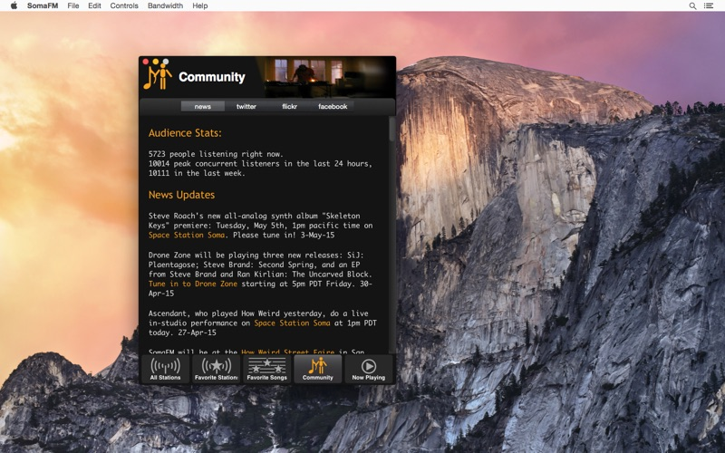 SomaFM Screenshot