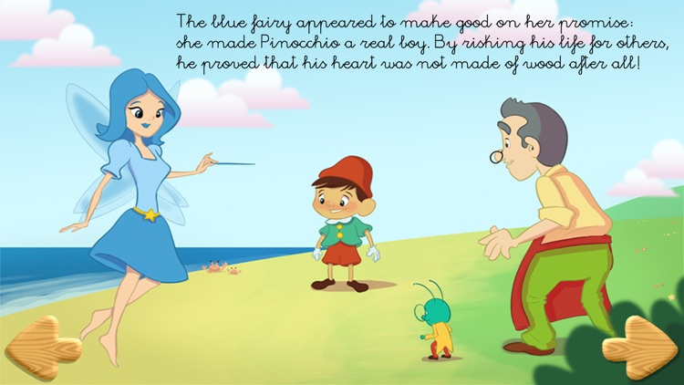 Pinocchio - Free book for kids!