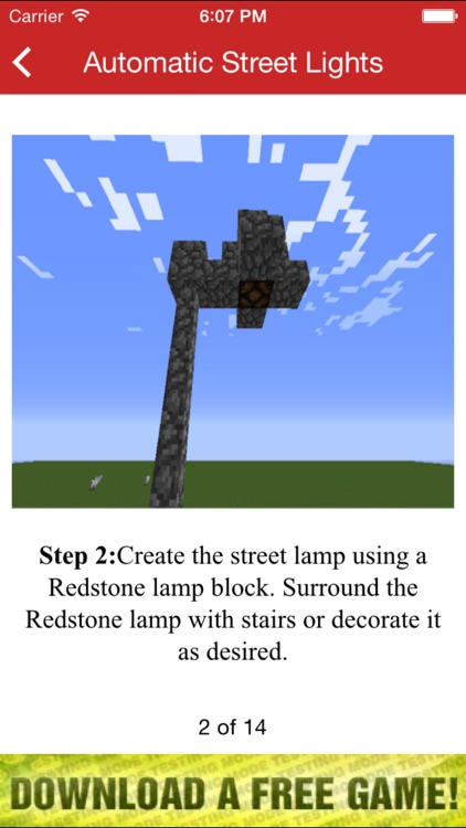 Unofficial Redstone Guide screenshot-3
