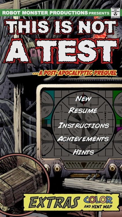 This Is Not a Test: A Survival RPG Comic