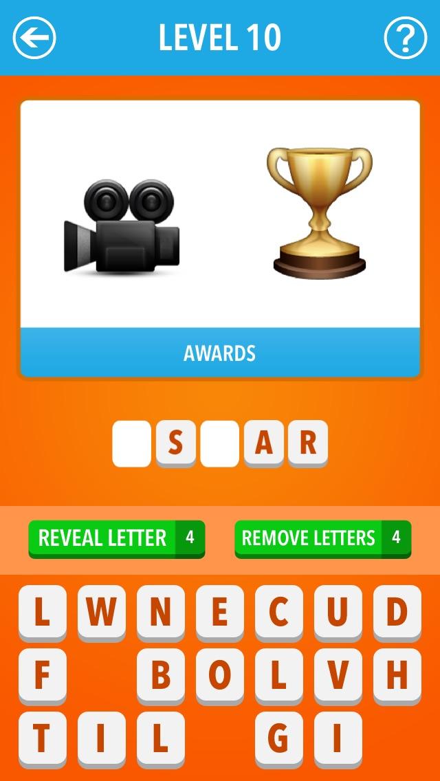 Emoji Quiz ~ Movies, Celebs, Brands Screenshot
