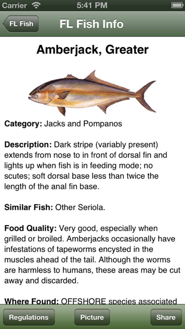 SC Saltwater Fishing Companion Screenshot