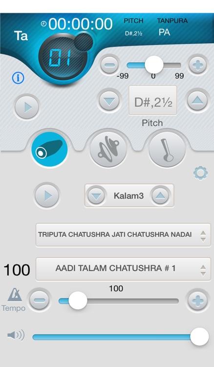 iMridangam  Manjira Tambura Player