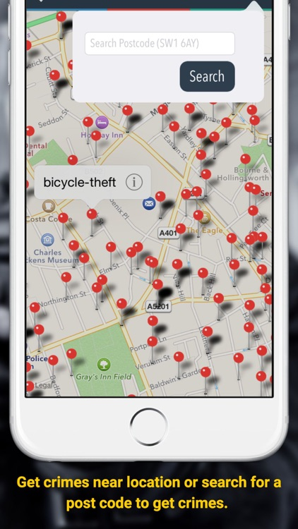 Street Crime Map UK - Know your area, surrounding and be safe in UK screenshot-3