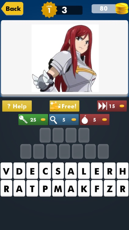 Anime Manga Trivia Quiz Fairy Tail Edition ~ Learn FT Characters screenshot-3
