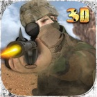 Marine Sniper Assassin in City Battle Warfare 3D icon