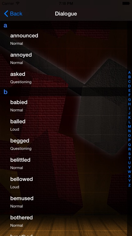 Writer's Block Buster screenshot-3
