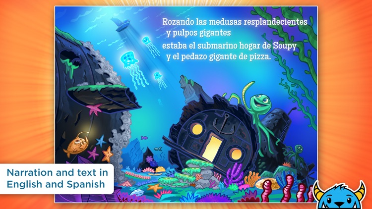A Shark Knocked On the Door - An Interactive Animated Storybook App For Kids screenshot-3