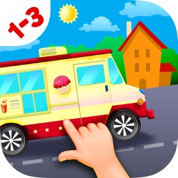 Trucks and Car Jigsaw Puzzles for Toddlers Free