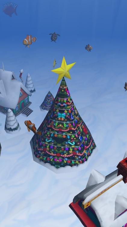 3D Christmas Aquarium : my Fish Special Edition FREE screenshot-3