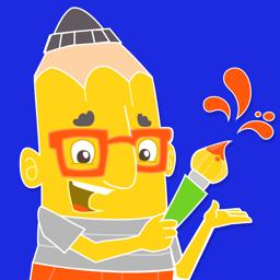 Ícone do app Desenhe Conosco! - o app criativo para crianças