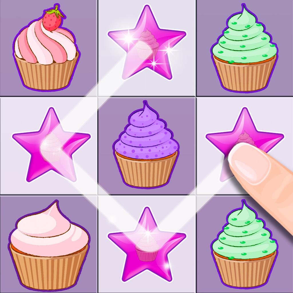 Sweet Cupcakes - Yummy Patty Cake Match-3 Mania