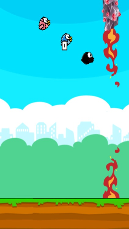Flappy 3 Players Colorful