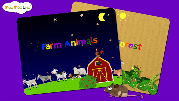 Animal World - Peekaboo Animals, Games and Activities for Baby, Toddler and Preschool Kids screenshot-2