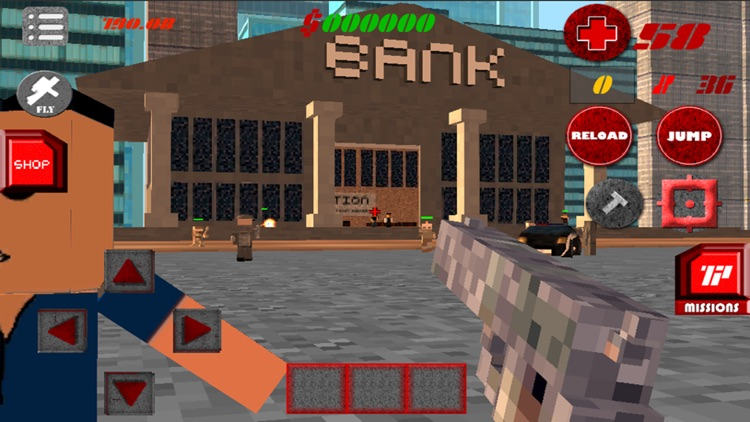 Craft City Gangs Multiplayer