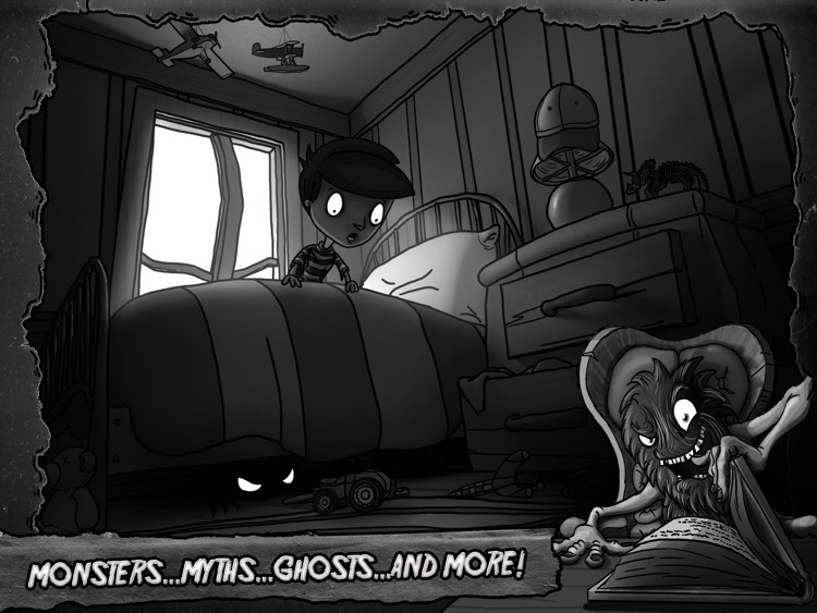 The Bedsby Tales: Spooky Short Stories with Monsters, Myths, Ghosts and More! screenshot-4