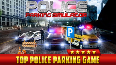 Police Car Parking Simulator Game - Real Life Emergency Driving Test Sim Racing Gamesのおすすめ画像1