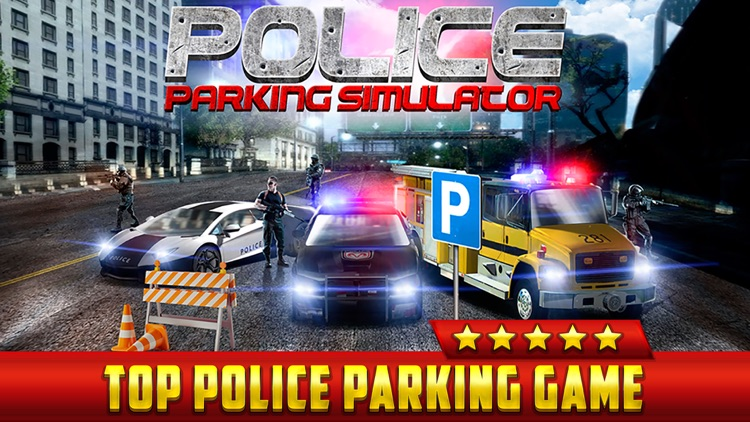 Police Car Parking Simulator Game - Real Life Emergency Driving Test Sim Racing Games screenshot-0