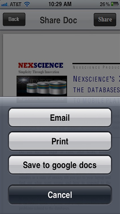 Document Manager ( Download, View, Share Files and Attachments ) screenshot-3
